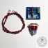 Jesse Dean Designs - JDDSSB - Digital Start Stop Button Kit (Red)