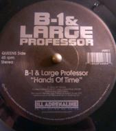 B-1 & Large Professor / O.C. & Da Beatminerz - Hands of Time / Spitgame (Black Edition)