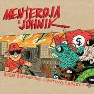 Menteroja - Boom Bap For The Fighting Subject (Red Vinyl)