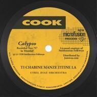 Cyril Diaz Orchestra - Ti Chabine Manze Titine La / Mme. Killio