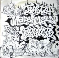 DJ Q-Bert - Darth Fader & Scarecrow Willy: Toasted Marshmallow Feet Braxe (White Vinyl)