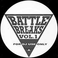 DJ Honda - Battle Breaks Vol. 1