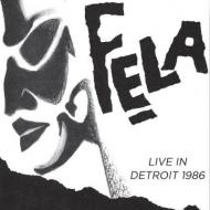 Fela Kuti & Egypt 80 - Live In Detroit 1986
