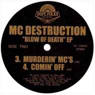 MC Destruction - Blow OF Death EP (Yellow Vinyl)