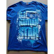 DJ Haitian Star - Haitian Star Blau T-Shirt