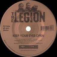 The Legion - Keep Your Eyes Open (Black Vinyl)