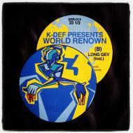 K-Def & World Renown - Signature Sevens Volume 3 (Picture Disc)
