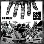 K-Def  - One Man Band (Silver Vinyl)