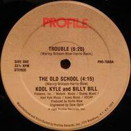 Kool Kyle The Starchild - Trouble / The Old School