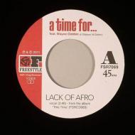Lack Of Afro - A Time For / Numero Seenko