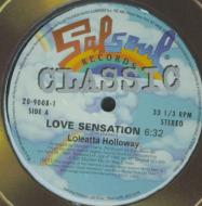 Loleatta Holloway - Love Sensation  /  Love & Happiness