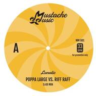 Lunatic - Poppa Large vs. Riff Raff / Rap Tight On Saturday Nite (Pink Vinyl)