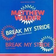 Matthew Wilder - Break My Stride (Remix / Club Version)