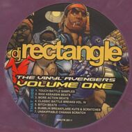 DJ Rectangle - The Vinyl Avengers Volume One (Purple Marbled Vinyl)