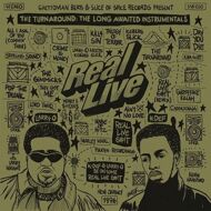 Real Live - The Turnaround: The Long Awaited Instrumentals (Black Vinyl)