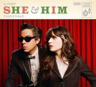 She & Him - A Very She & Him Christmas (Black Vinyl)
