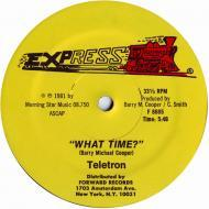 Teletron - What Time?