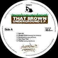 Sputnik Brown - That Brown Underground EP (Black Vinyl)