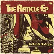 K-Def & DaCapo - The Article EP (Colored)