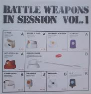 Various - Battle Weapons In Session Vol 1