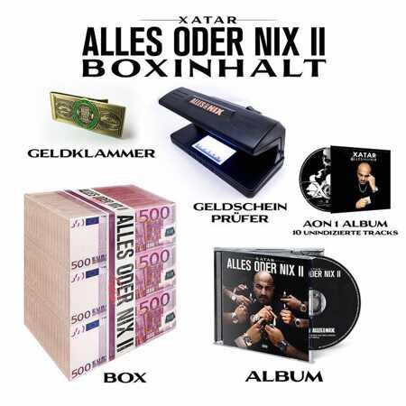 Xatar Alles Oder Nix Ii Limitierte Box 4cd Box Vinyl Digital