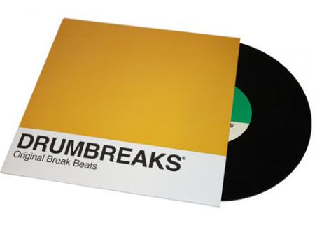 Various - Drumbreaks: Original Break Beats, 56 Drum Breaks & 2 Drum Solos  (Vinyl 10