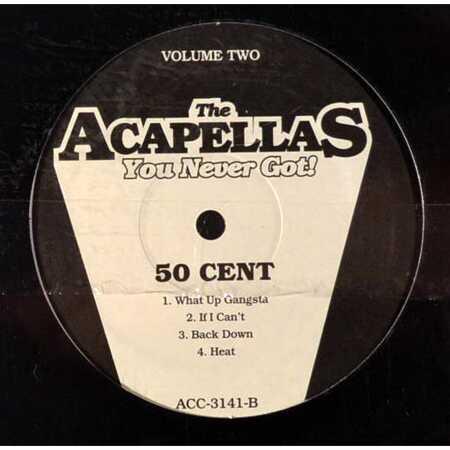 Jay-Z / 50 Cent - The Acapellas You Never Got Vol  2 (Vinyl LP) |  vinyl-digital com shop | en