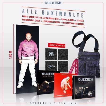 best loved c0ae3 810fc Olexesh - Authentic Athletic 2 (Limitierte Deluxe Box) (3CD BOX) |  vinyl-digital.com shop | de